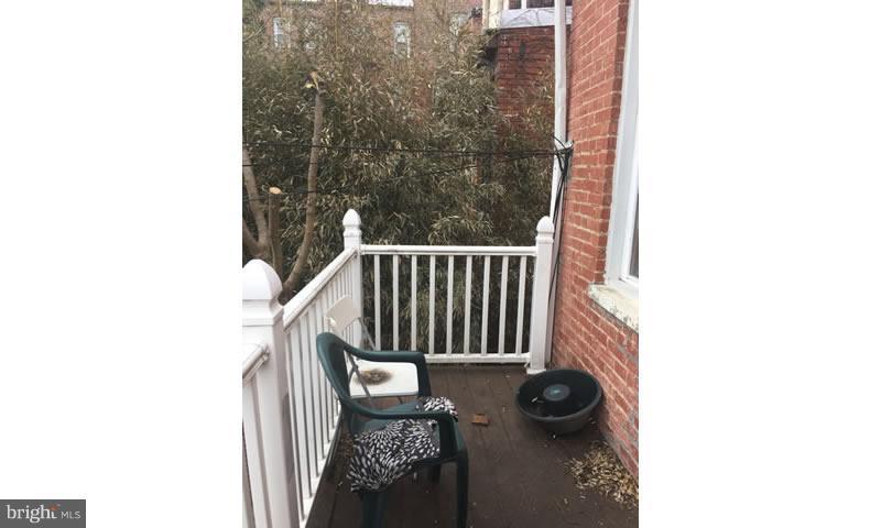 Exterior (Rear) - 1330 FAIRMONT ST NW, WASHINGTON