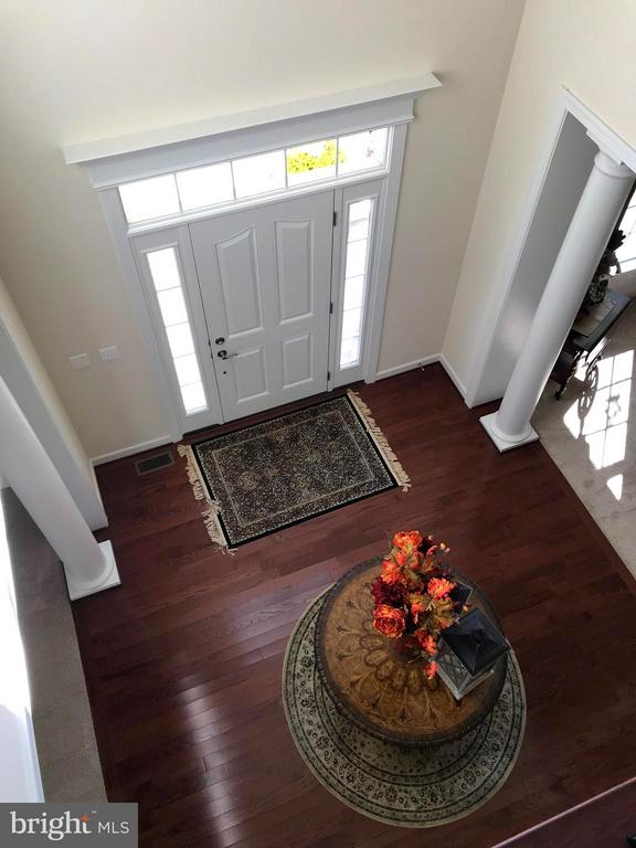 2 Story Foyer view from above. - 6 SCARLET FLAX CT, STAFFORD