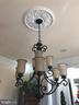 Dining room chandelier. - 6 SCARLET FLAX CT, STAFFORD