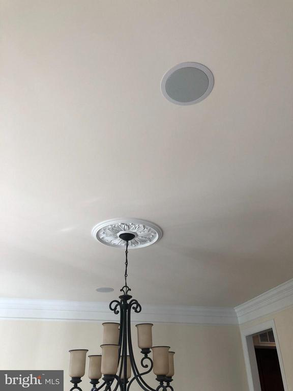 Speakers in various rooms throughout home. - 6 SCARLET FLAX CT, STAFFORD