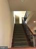 Iron rails on back staircase to upper level. - 6 SCARLET FLAX CT, STAFFORD