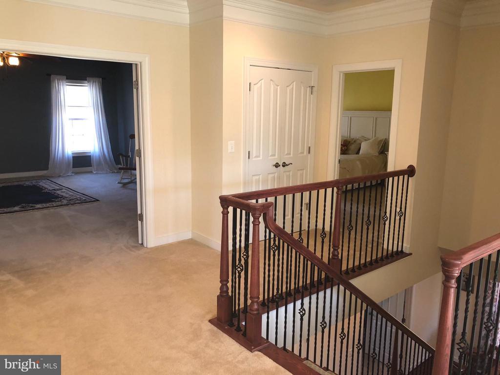Upper level foyer. - 6 SCARLET FLAX CT, STAFFORD
