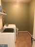 Upper level laundry. - 6 SCARLET FLAX CT, STAFFORD