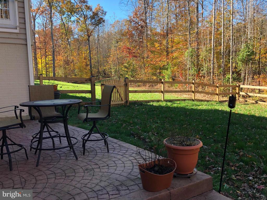 Fenced yard for little ones or pets. - 6 SCARLET FLAX CT, STAFFORD