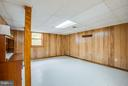 Basement Rec Room - 4400 BRIGGS WAY, BUMPASS