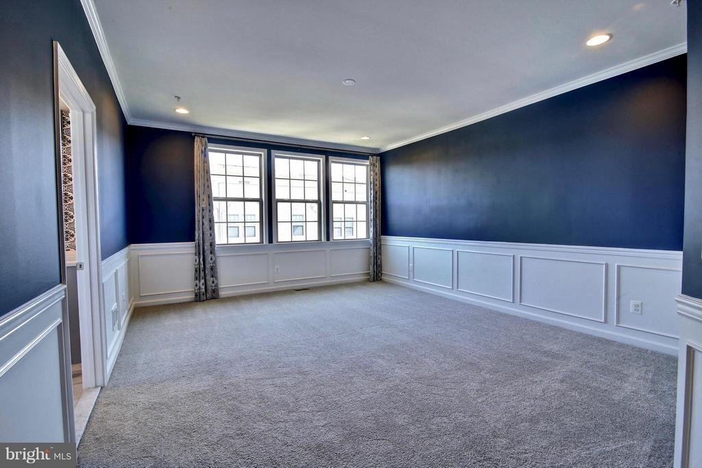 Huge Master Bedroom with Custom Detail - 23386 EPPERSON SQ, ASHBURN