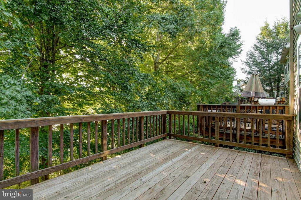 Deck & View - 15757 WIDEWATER DR, DUMFRIES