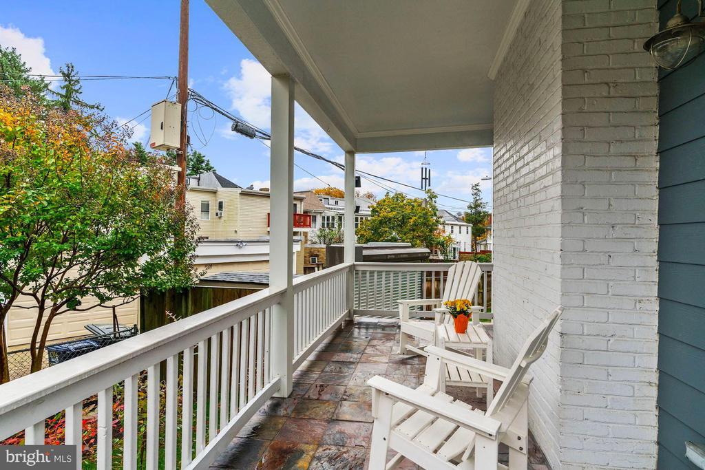 Side Porch - 1206 GALLATIN ST NW, WASHINGTON