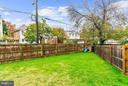Rear Yard - 1206 GALLATIN ST NW, WASHINGTON