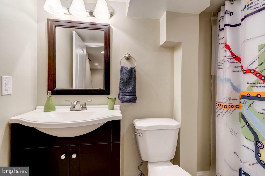 Bathroom #3 - 1206 GALLATIN ST NW, WASHINGTON