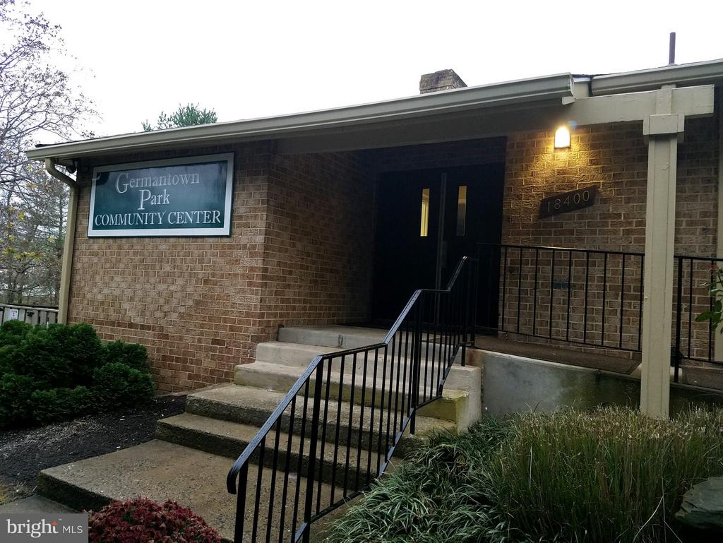Community Center within walking distance - 18715 GINGER CT, GERMANTOWN