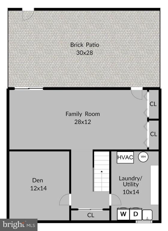 Lower Level Floorplan - 6018 WATERBURY CT, SPRINGFIELD