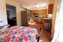 Kitchen with upgraded stainless steel appliances. - 529 BLACKSBURG TER NE, LEESBURG