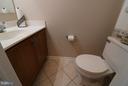 Half bath on the main level. - 529 BLACKSBURG TER NE, LEESBURG