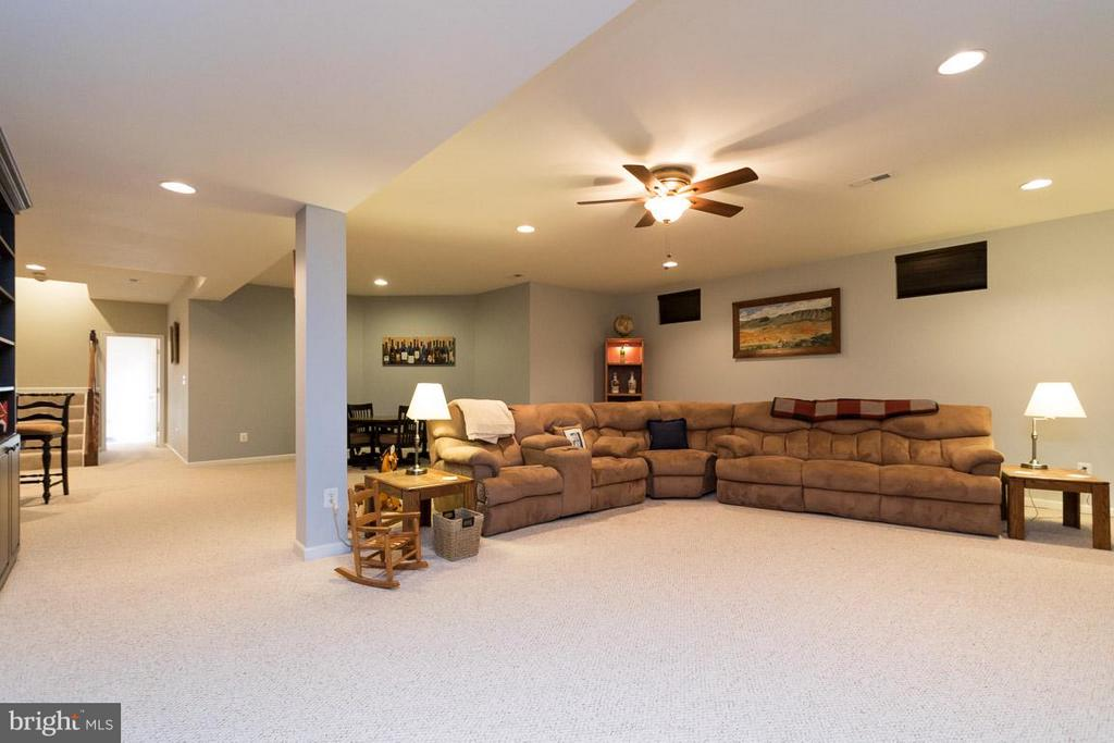 Giant recreation room in walk up basment. - 43857 RIVERPOINT DR, LEESBURG