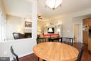 breakfast area to family room - 43857 RIVERPOINT DR, LEESBURG