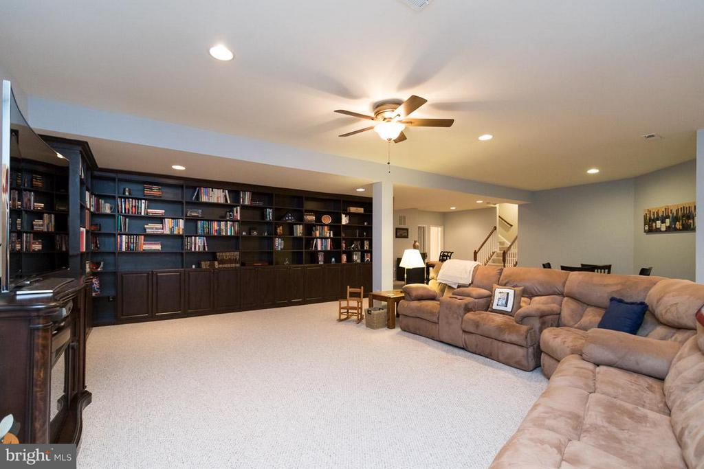 Basement view two. - 43857 RIVERPOINT DR, LEESBURG
