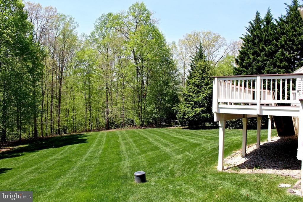 Cleared land and irrigation system - 11520 SUMMIT RIDGE CT, MANASSAS