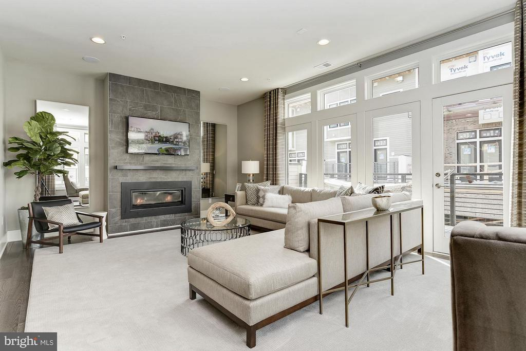 Living Room - 5315 MERRIAM ST #CAMERON MODEL, BETHESDA