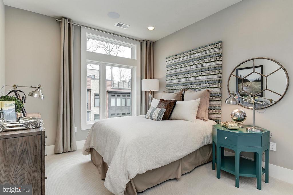 Bedroom (Master) - 5315 MERRIAM ST #CAMERON MODEL, BETHESDA