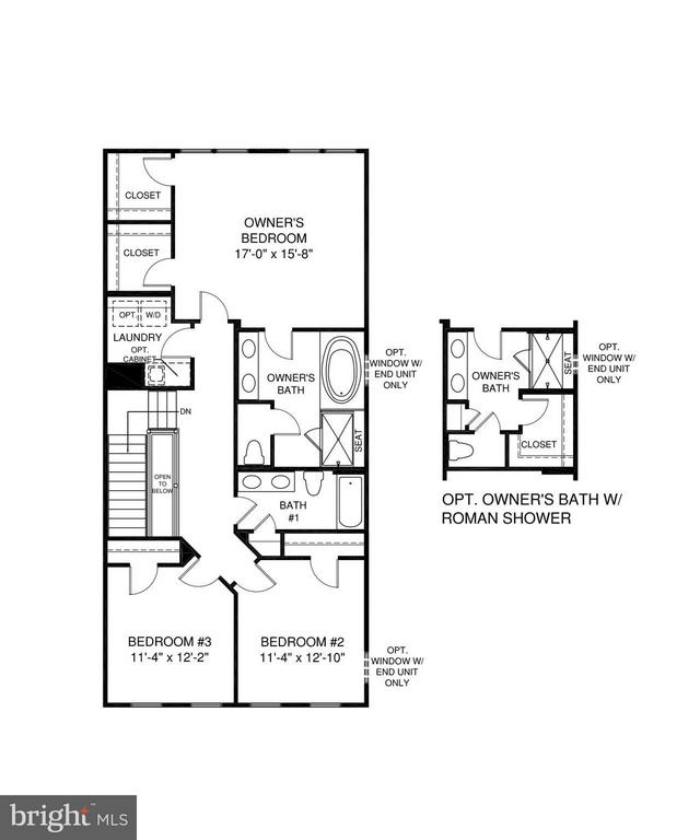 3rd Level Floorplan - 5204 ROCK QUARRY AVE, GREENBELT