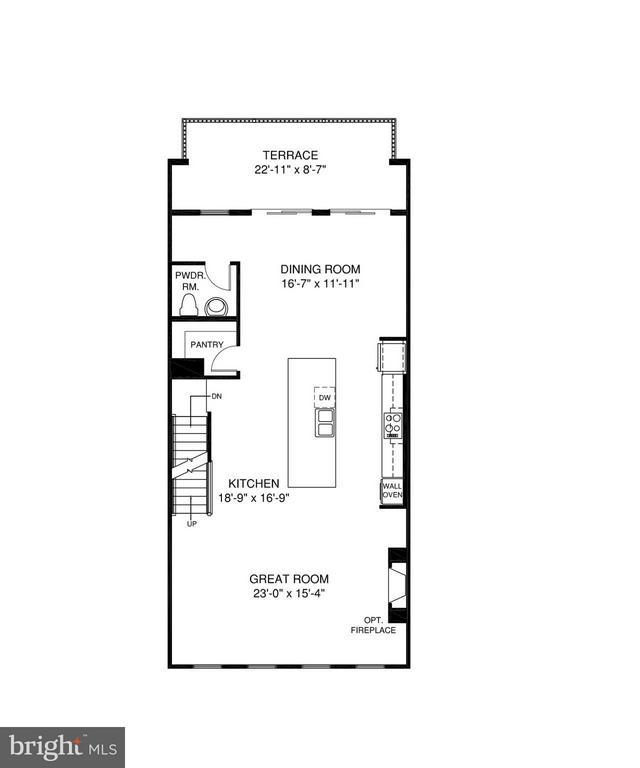 2nd Level Floorplan - 5204 ROCK QUARRY AVE, GREENBELT