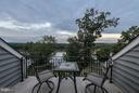 Balcony view - 18302 FAIRWAY OAKS SQ NE, LEESBURG