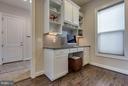 Chefs Kitchen with Desk Area - 44760 MALDEN PL, ASHBURN