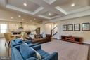 Spacious Family Room with Coffefred Ceiling - 44760 MALDEN PL, ASHBURN
