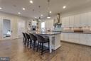 Chefs Kitchen w/ Subway Tile and Undermount Lights - 44760 MALDEN PL, ASHBURN