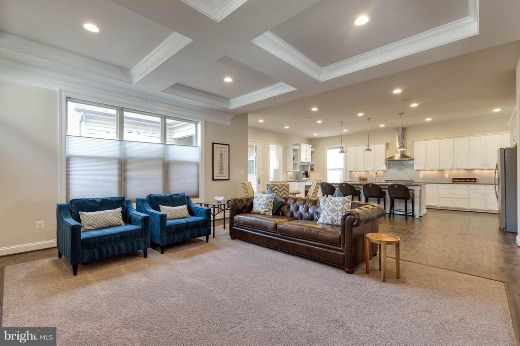 Open and Inviting Family Room - 44760 MALDEN PL, ASHBURN