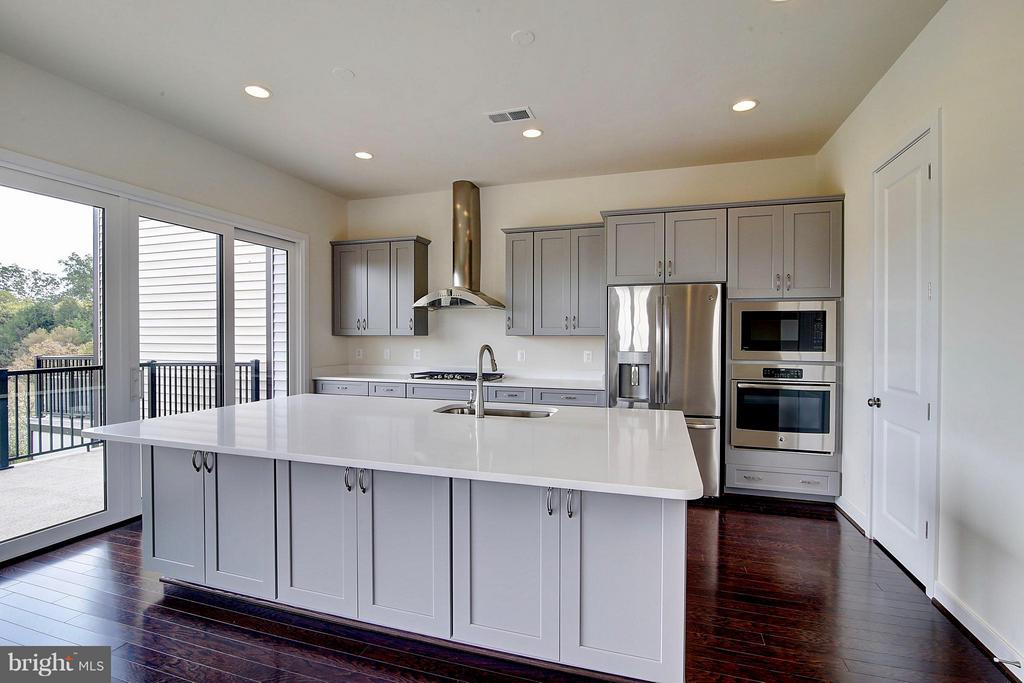 Upgraded Gourmet Kitchen - 23092 SULLIVANS COVE SQ, ASHBURN
