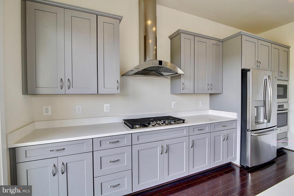 Range Hood Over Gas Cooktop - 23092 SULLIVANS COVE SQ, ASHBURN
