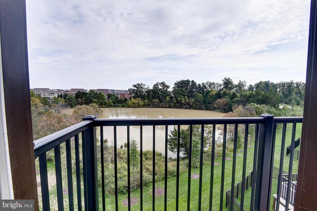 Upper Level Balcony with Private View - 23092 SULLIVANS COVE SQ, ASHBURN