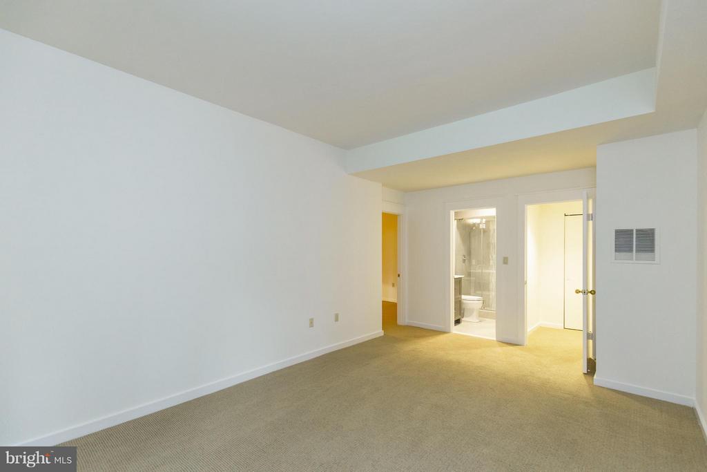 Spacious bedroom with ensuite bath - 3131 MONROE ST, ARLINGTON