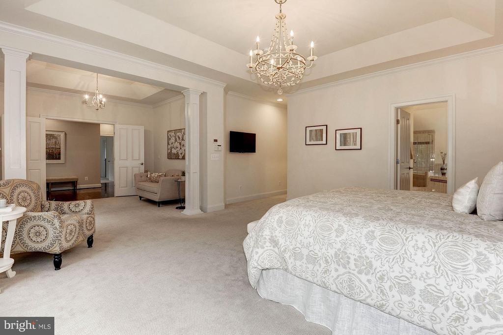 Bedroom (Master) - 603 NIBLICK DR SE, VIENNA