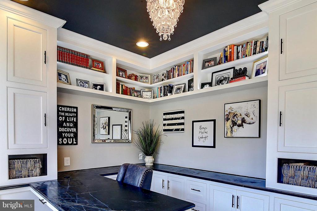 Lighted bookcases - 20385 SAVIN HILL DR, ASHBURN