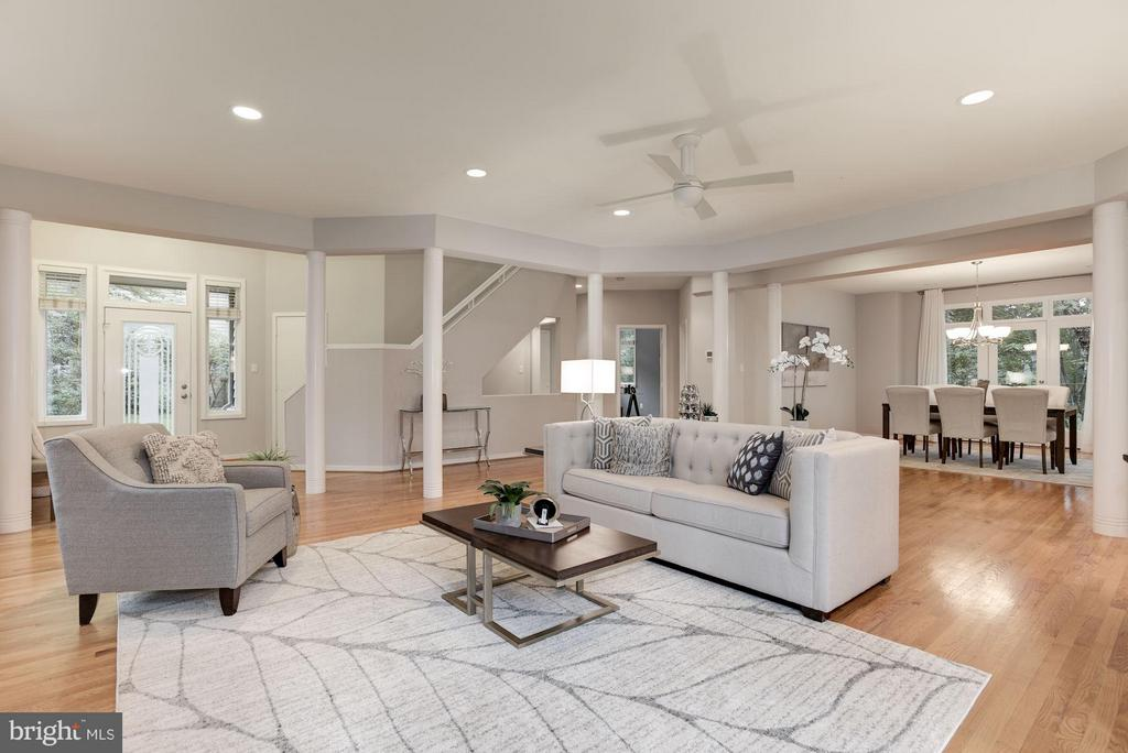 Living Room - 1437 WATERFRONT RD, RESTON