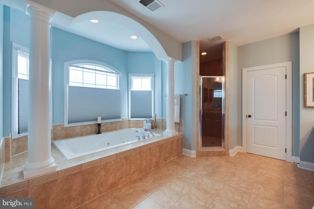 Dual Vanities, Tub, Shower & Water Closet - 40728 CHEVINGTON LN, LEESBURG