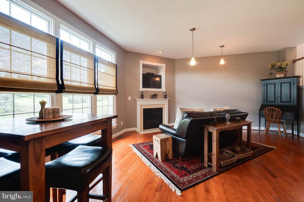2nd Family/Great Room with Gas Fireplace - 40728 CHEVINGTON LN, LEESBURG