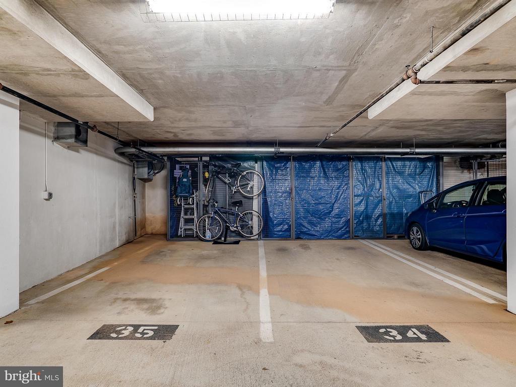 Parking Space #34 & Storage Area - 1855 STRATFORD PARK PL #201, RESTON