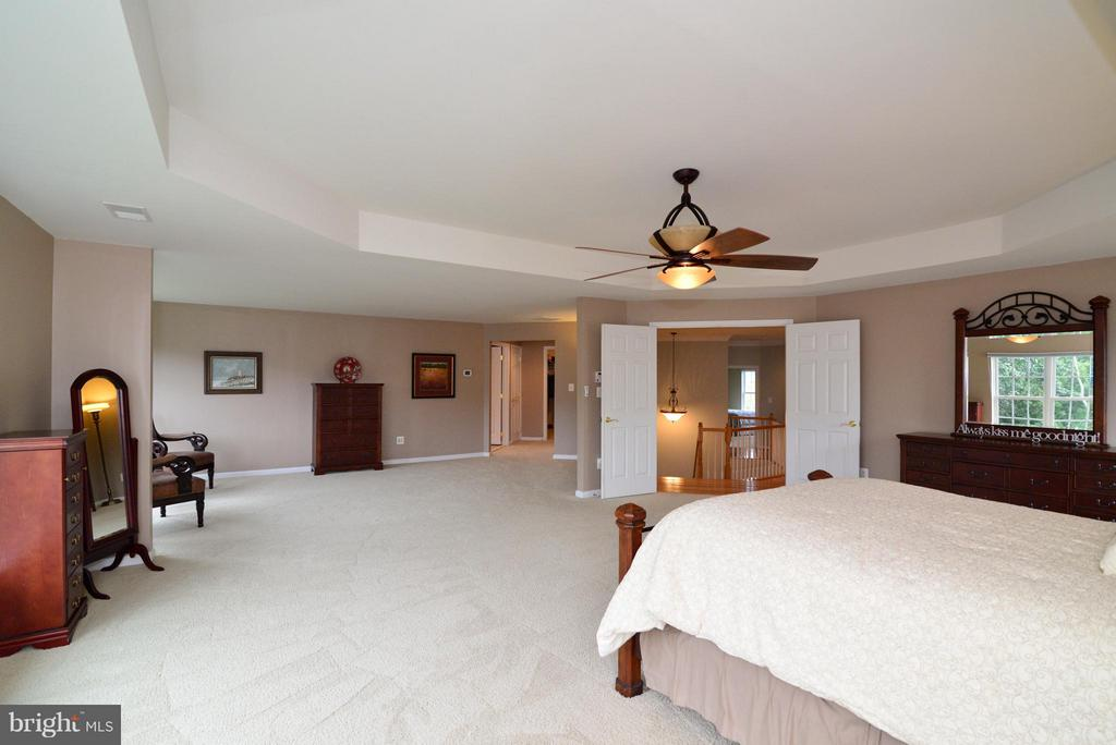 MBR w/huge sitting room - 13534 VILLAGE GREEN DR, LEESBURG