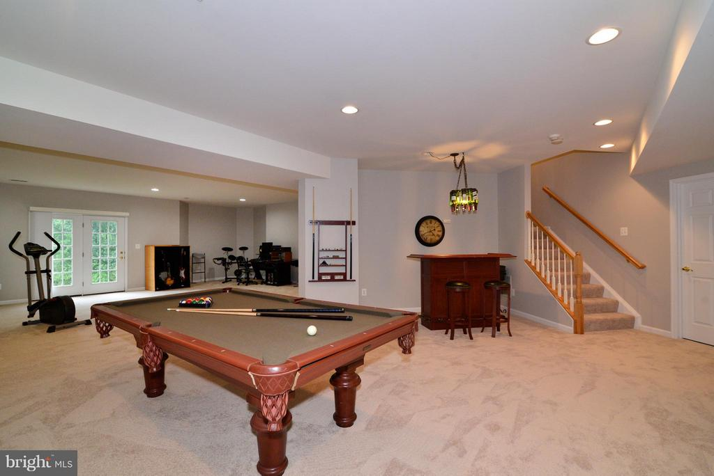 Finished basement w/new carpeting and open concept - 13534 VILLAGE GREEN DR, LEESBURG