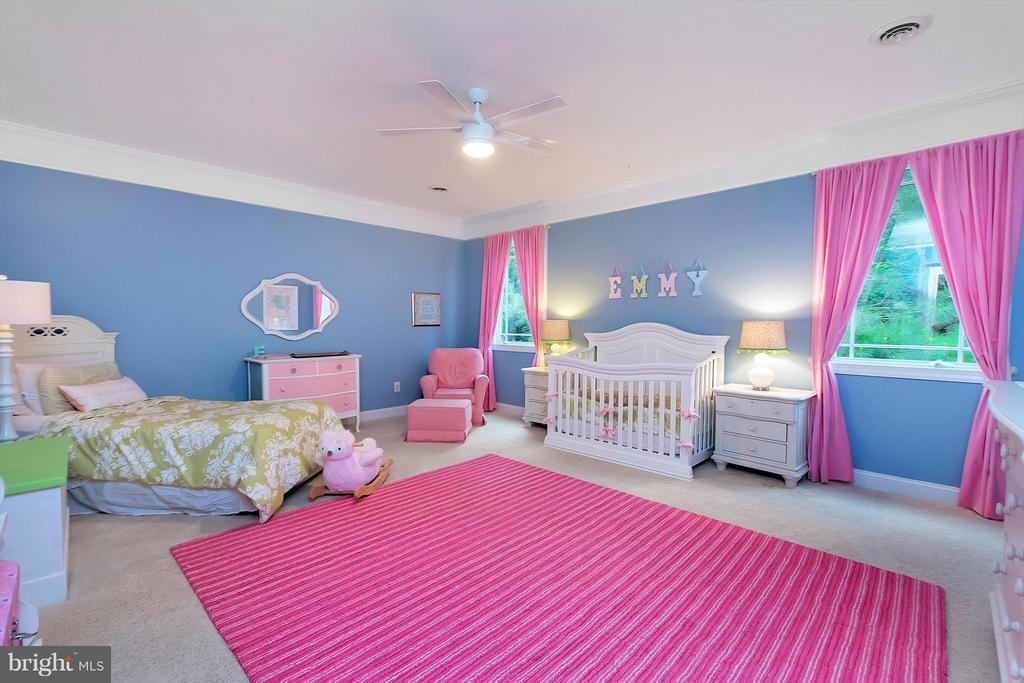 Bedroom #5 with Private Bath, Walk-in Closet - 11403 LITTLE BAY HARBOR WAY, SPOTSYLVANIA