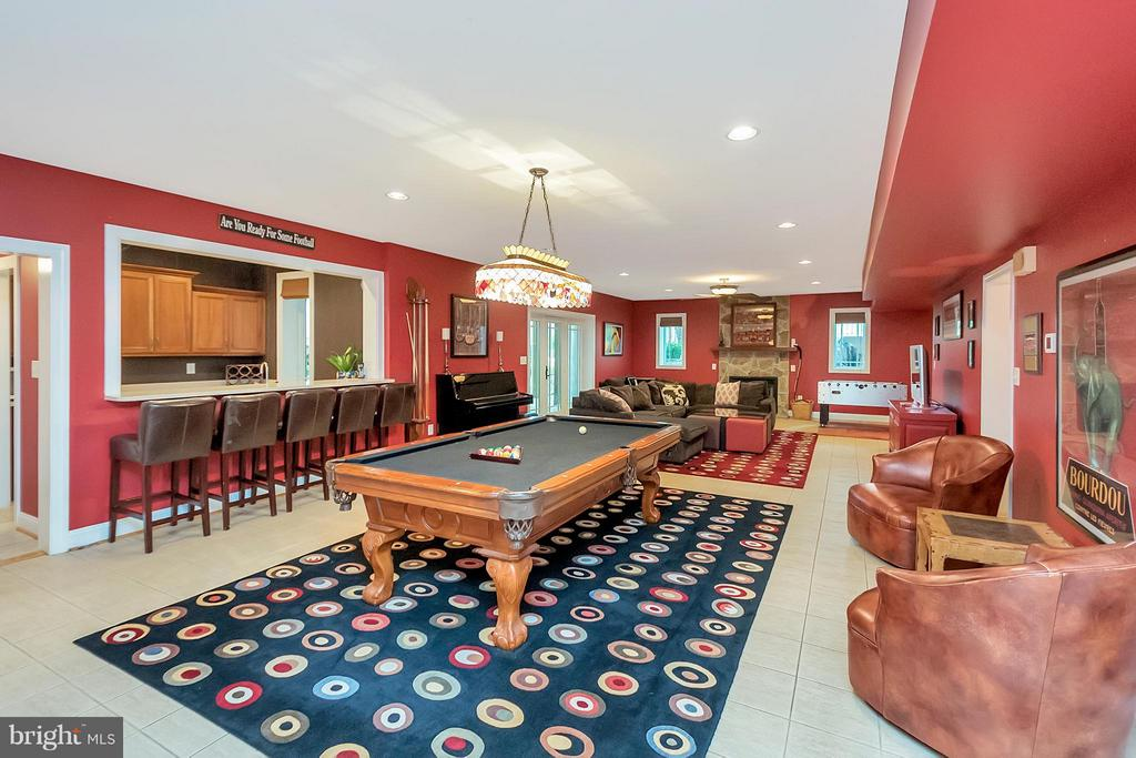 Lower Level with Walkout to Patio - 11403 LITTLE BAY HARBOR WAY, SPOTSYLVANIA