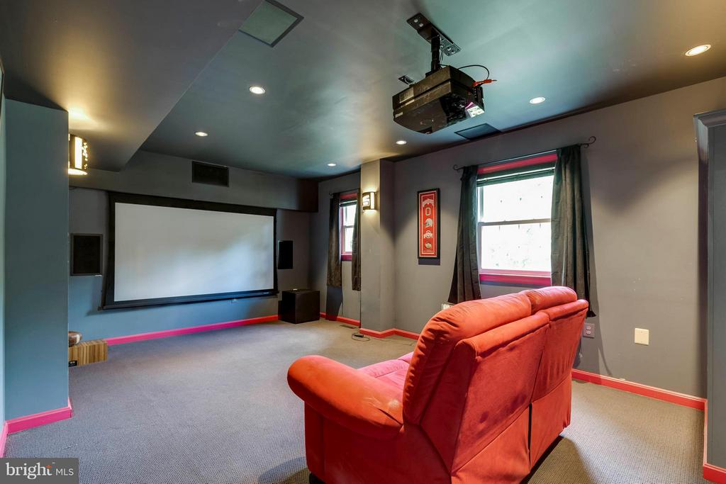 Home Theater - 2708 CALKINS RD, HERNDON