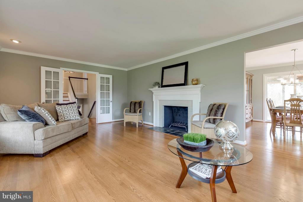 Living Room - 2708 CALKINS RD, HERNDON