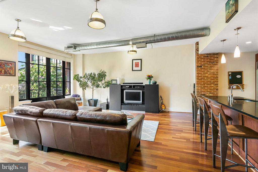 Living Room - 1600 CLARENDON BLVD #W212, ARLINGTON