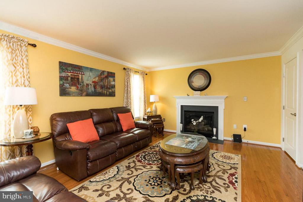 Living Room - 12112 MAJESTIC PL, CULPEPER