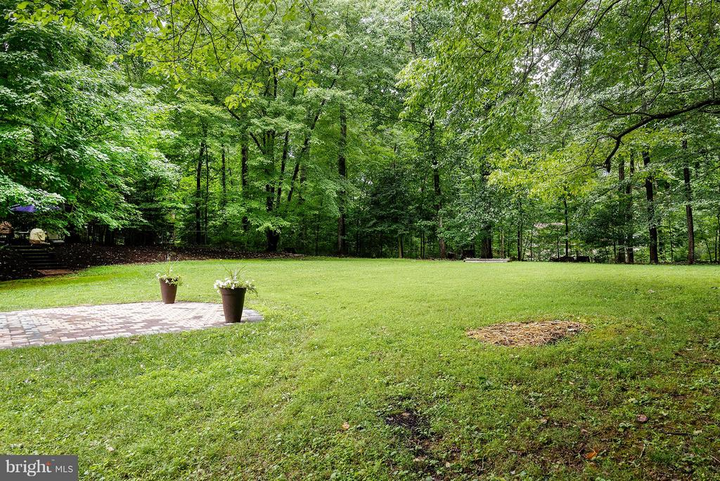 Mature Trees/fenced yard - 11920 RICHLAND LN, HERNDON